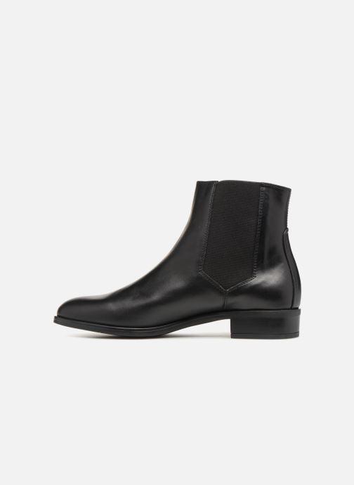 Bottines et boots Unisa BELKI Noir vue face