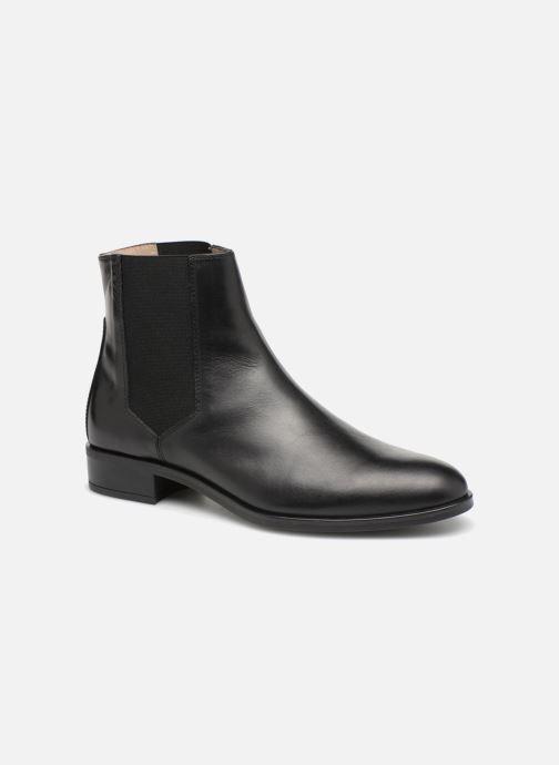 Boots en enkellaarsjes Unisa BELKI Zwart detail