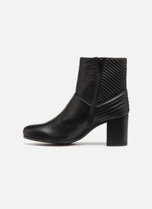 Bottines et boots Unisa OVIEDO Noir vue face