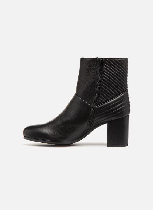 Stiefeletten & Boots Unisa OVIEDO schwarz ansicht von vorne