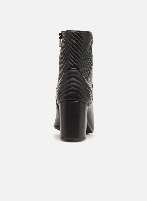 Bottines et boots Unisa OVIEDO Noir vue droite