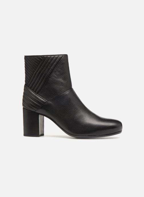 Bottines et boots Unisa OVIEDO Noir vue derrière