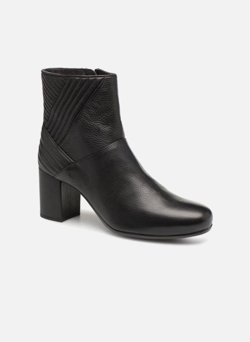 Bottines et boots Unisa OVIEDO Noir vue détail/paire