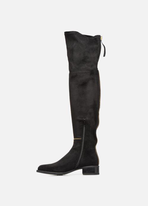 Stiefel Unisa ELIANA ST BLACK GOLD schwarz ansicht von vorne