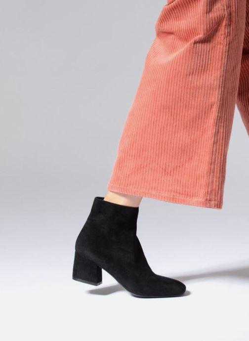 Bottines et boots Aldo PIELLA Noir vue bas / vue portée sac