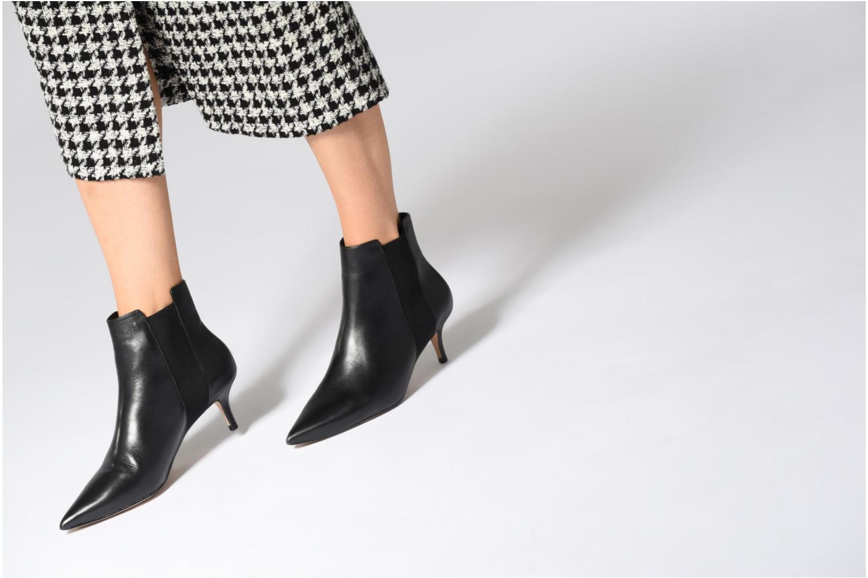 Stiefeletten & Boots Aldo JERIREWIA schwarz ansicht von unten / tasche getragen