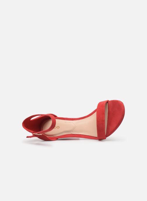 Sandales et nu-pieds Aldo JERAYCLYA Rouge vue gauche