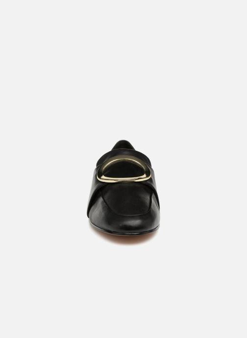 Mocassins Aldo CADERICIA Noir vue portées chaussures