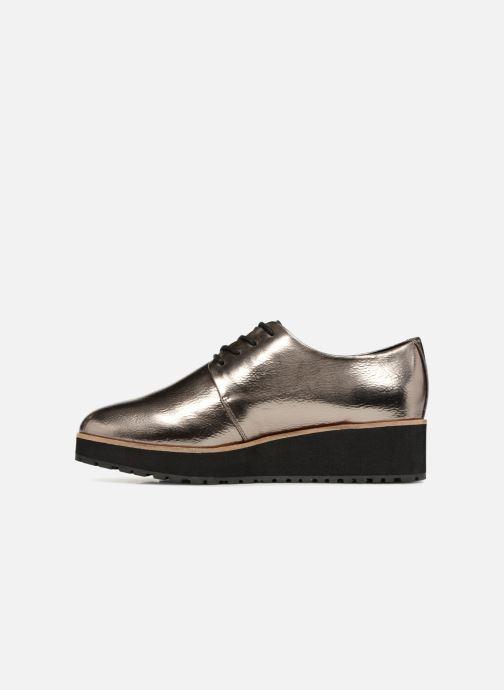 Chaussures à lacets Aldo LOVIREDE Argent vue face