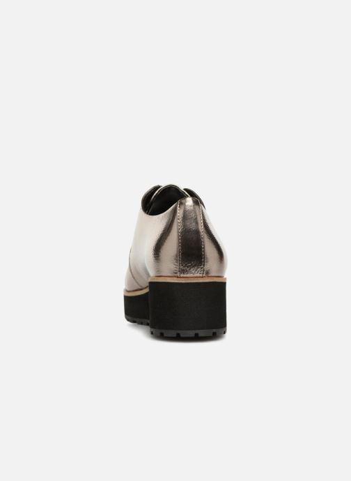 Chaussures à lacets Aldo LOVIREDE Argent vue droite