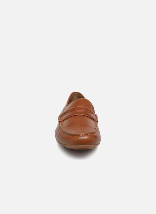Mocassins Aldo CREIWEIT Marron vue portées chaussures