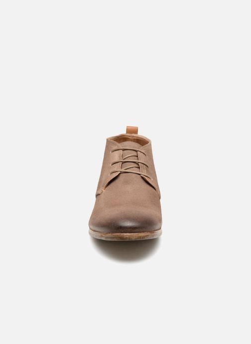 Chaussures à lacets Aldo PREVOT Beige vue portées chaussures