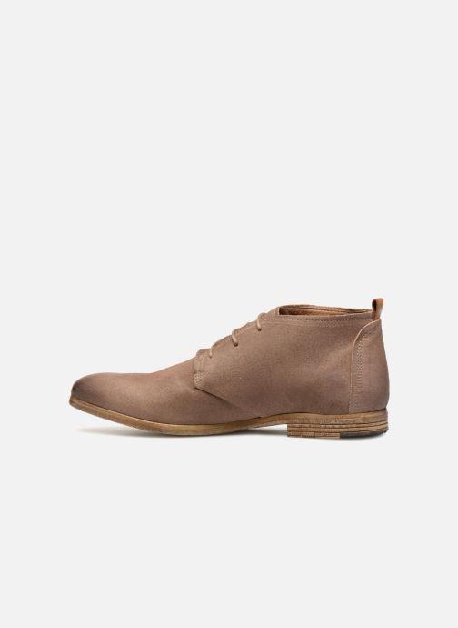 Chaussures à lacets Aldo PREVOT Beige vue face