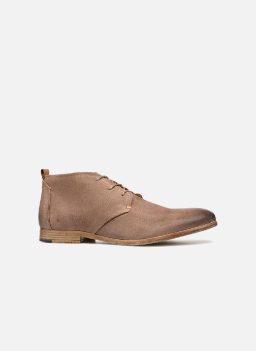 Chaussures à lacets Aldo PREVOT Beige vue derrière