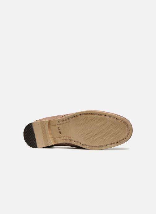 Chaussures à lacets Aldo PREVOT Beige vue haut