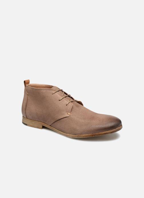 Chaussures à lacets Aldo PREVOT Beige vue détail/paire