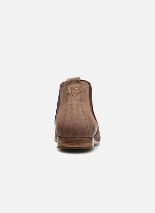 Bottines et boots Aldo ALBISTON Beige vue droite