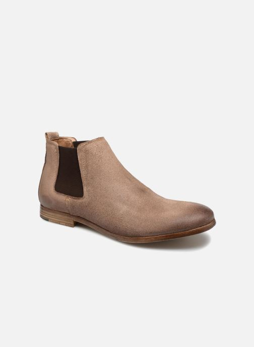 Bottines et boots Aldo ALBISTON Beige vue détail/paire