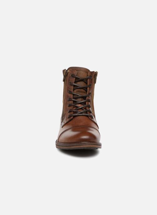 Bottines et boots Aldo LUCIO Marron vue portées chaussures
