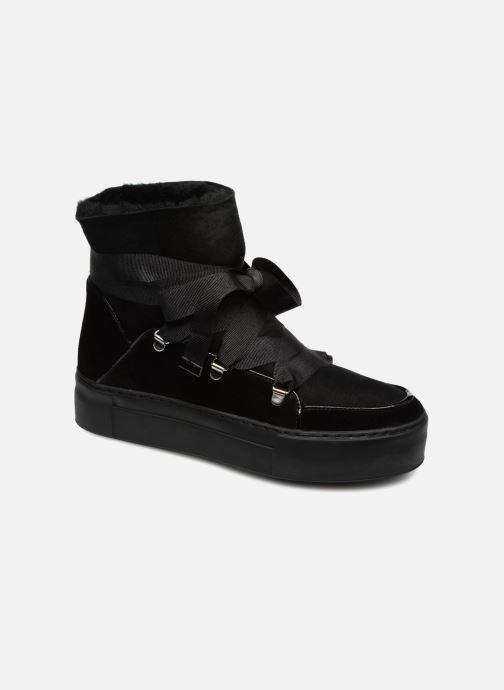 Boots en enkellaarsjes Billi Bi 7524500 Zwart detail