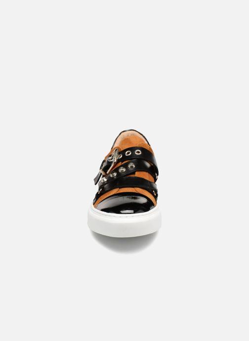 Baskets Billi Bi 7506255 Marron vue portées chaussures