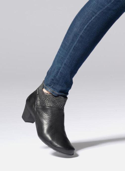 Bottines et boots Mephisto Michaela Noir vue bas / vue portée sac