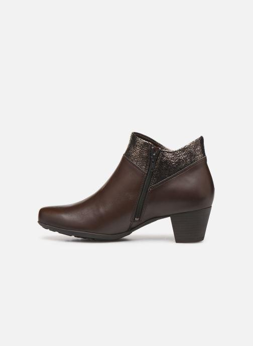 Bottines et boots Mephisto Michaela Marron vue face