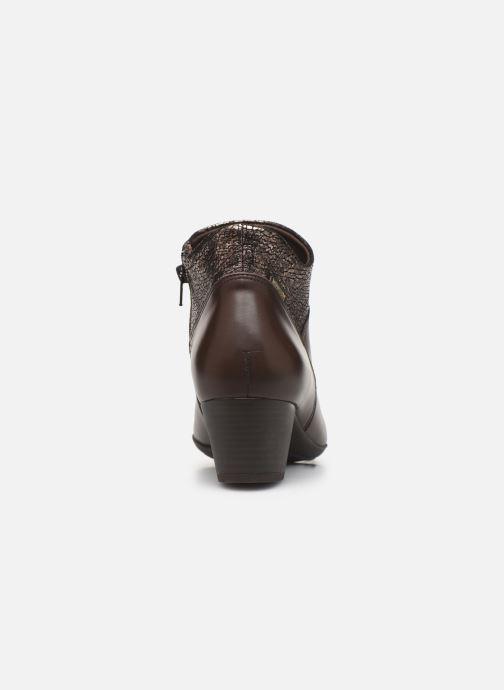 Bottines et boots Mephisto Michaela Marron vue droite
