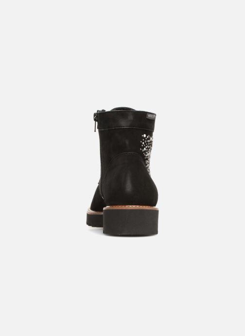 Bottines et boots Mephisto Sibile Spark Noir vue droite