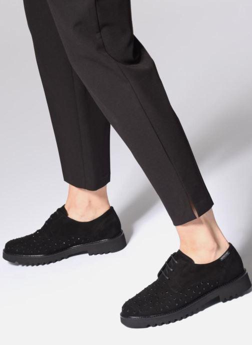 Chaussures à lacets Mephisto Sylvana Noir vue bas / vue portée sac