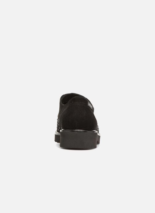Zapatos con cordones Mephisto Sylvana Negro vista lateral derecha