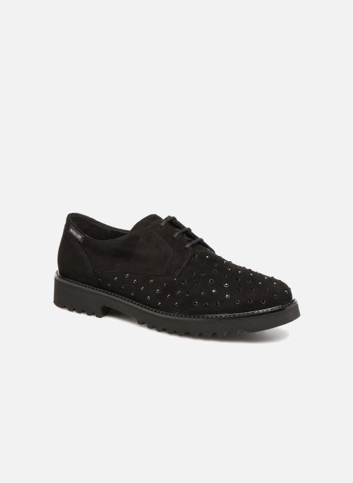 Zapatos con cordones Mephisto Sylvana Negro vista de detalle / par