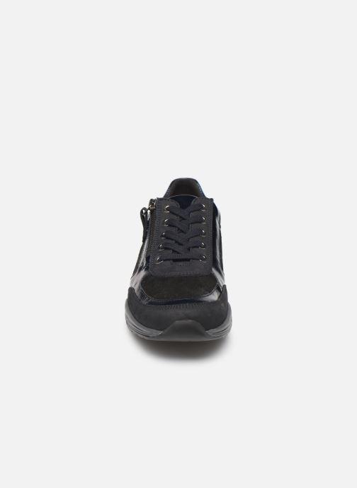 Sneaker Mephisto Ylona blau schuhe getragen