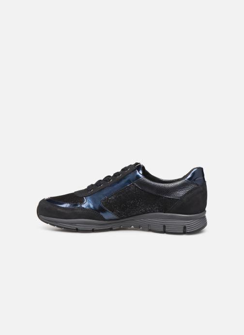 Sneaker Mephisto Ylona blau ansicht von vorne