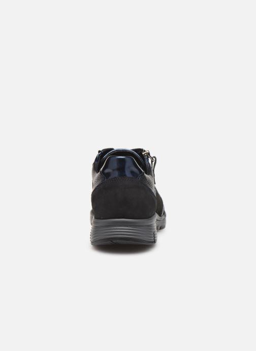 Sneaker Mephisto Ylona blau ansicht von rechts