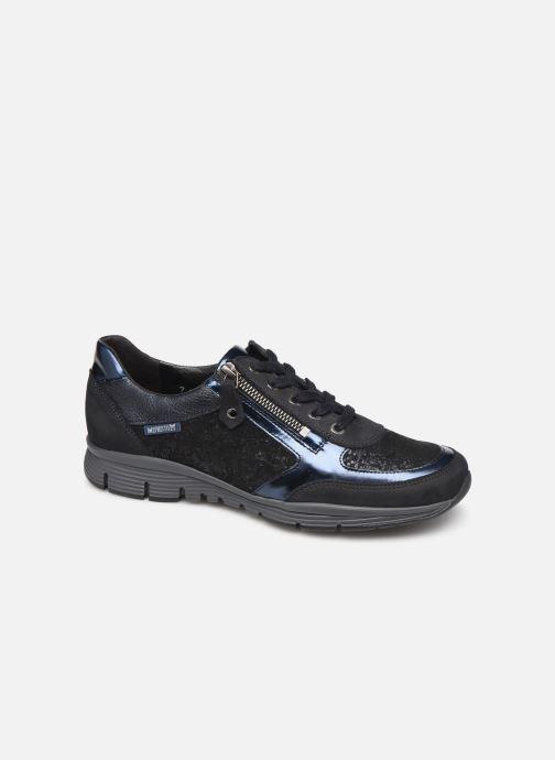 Sneakers Mephisto Ylona Blauw detail