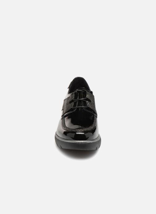Schnürschuhe Mephisto Souana schwarz schuhe getragen