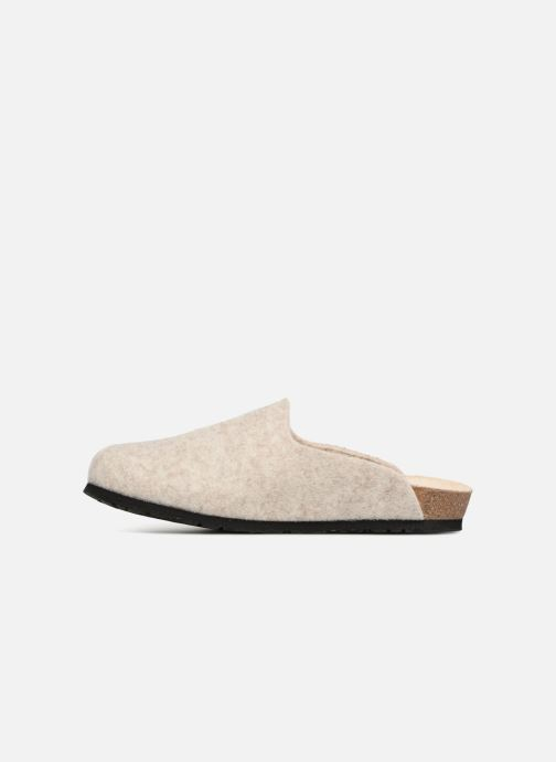 Pantoffels Mephisto Yin Beige voorkant