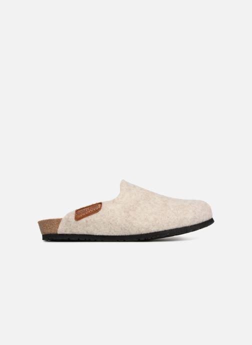 Pantoffels Mephisto Yin Beige achterkant