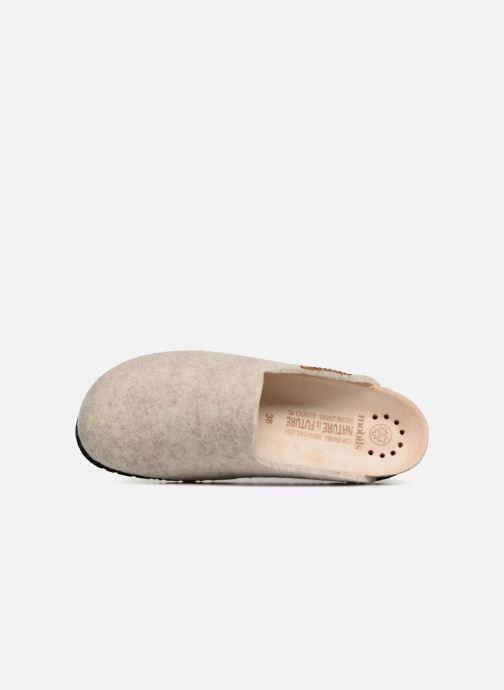 Pantoffels Mephisto Yin Beige links