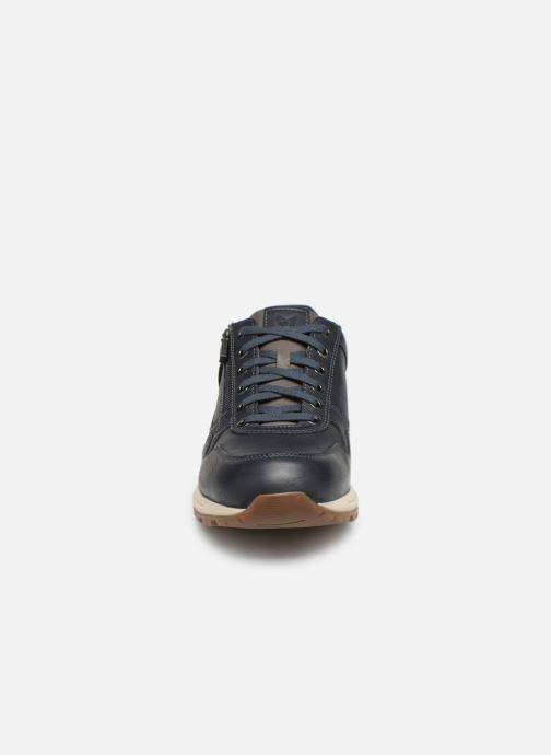 Baskets Mephisto Bradley Bleu vue portées chaussures