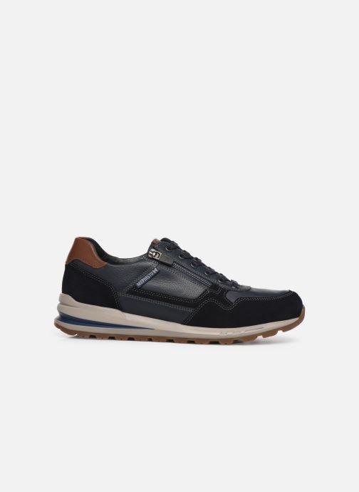 Sneakers Mephisto Bradley Blauw achterkant
