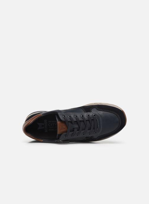 Sneakers Mephisto Bradley Blauw links