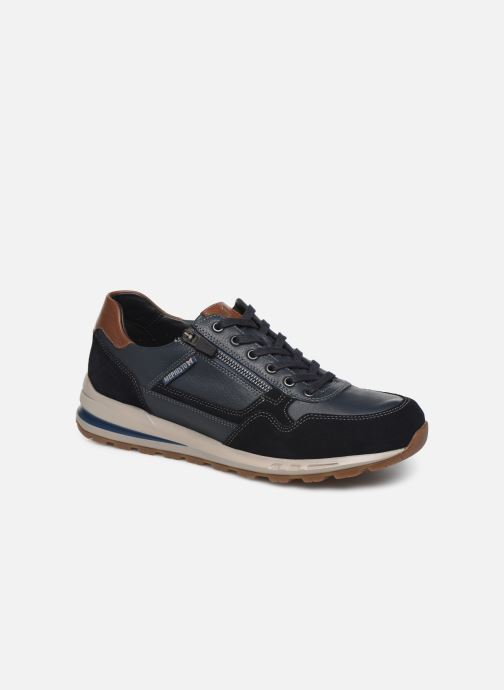 Trainers Mephisto Bradley Blue detailed view/ Pair view
