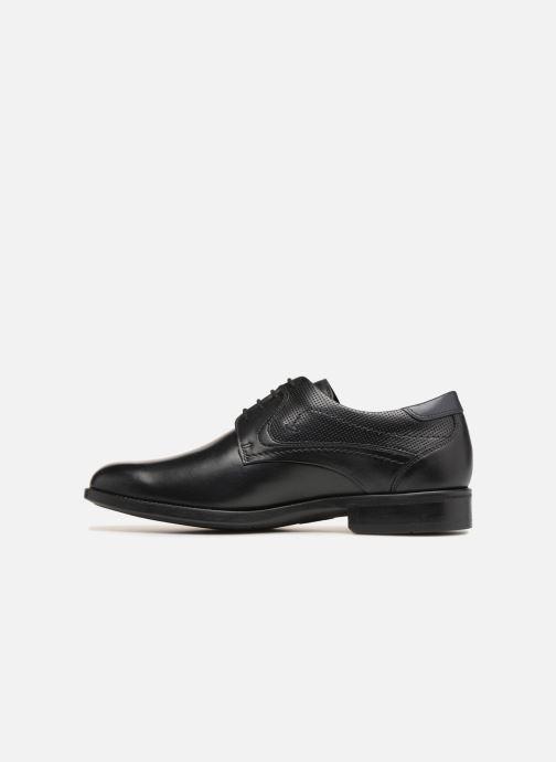 Zapatos con cordones Mephisto Cirus Negro vista de frente