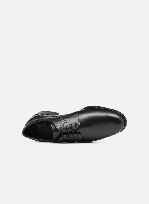 Zapatos con cordones Mephisto Cirus Negro vista lateral izquierda