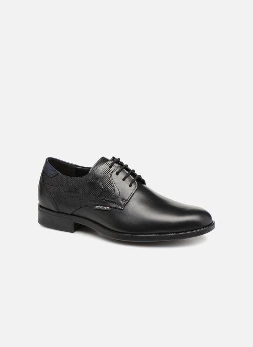Zapatos con cordones Mephisto Cirus Negro vista de detalle / par