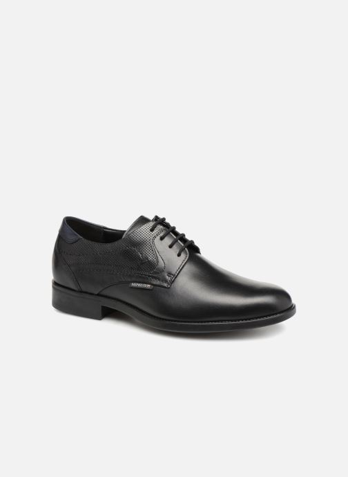 Chaussures à lacets Mephisto Cirus Noir vue détail/paire