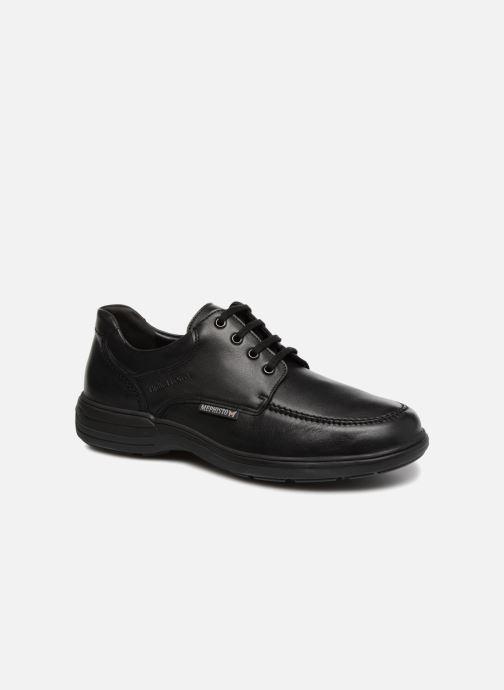 Zapatos con cordones Mephisto Douk Negro vista de detalle / par