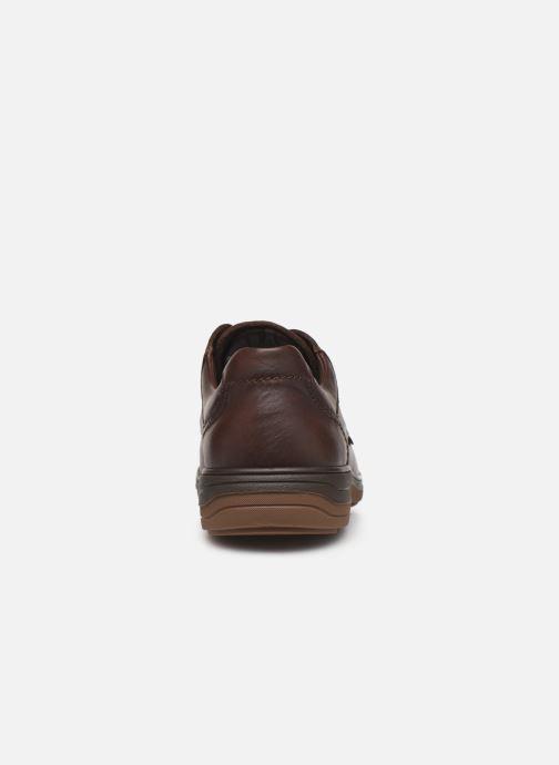 Chaussures à lacets Mephisto Douk Marron vue droite